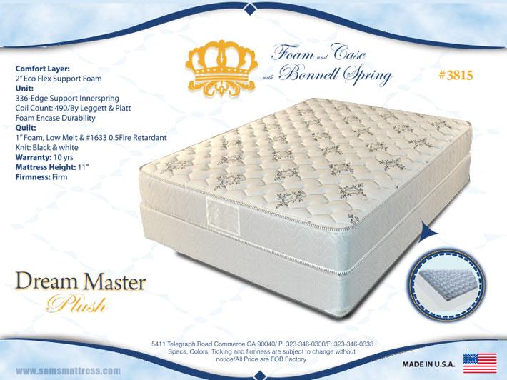 Dream Master Sams Mattresssams Mattress